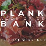 PLANK OP DE BANK POST